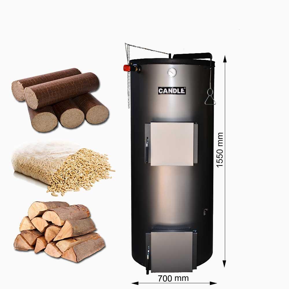 Centrala termica pe lemne si brichete