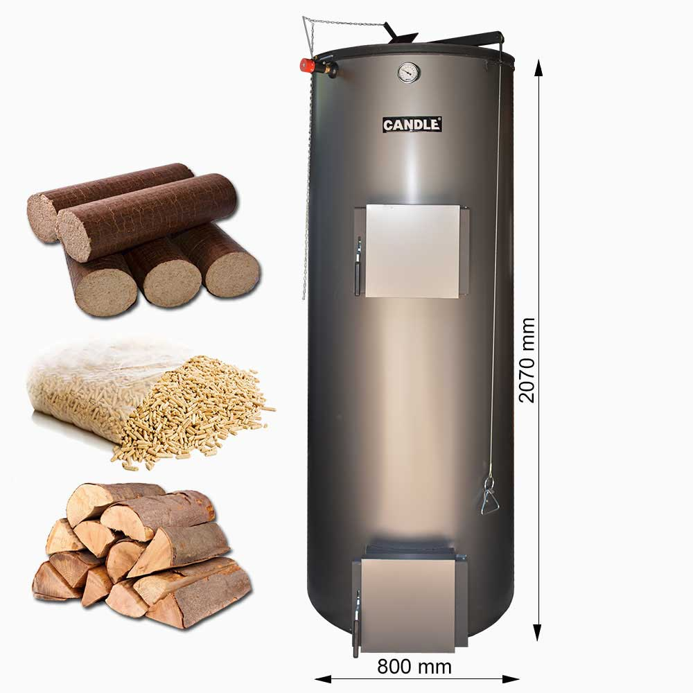 Centrala termica pe lemne CANDLE 50 KW